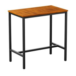 ICE Outdoor Industrial Style Bar Table - Rectangular