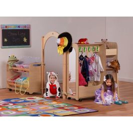 PlayScapes Early Years Mini Dressing Up Zone - Bundle Deal