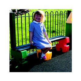 Jigsaw Recycled Plastic Childrens Bench