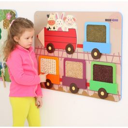 Childrens Tactile Wall Play Panel