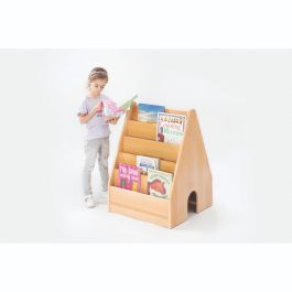 Zona Children's Wooden Double Sided Book Display