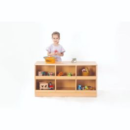 Zona Children's Low Book/Toy Beechwood Storage Unit