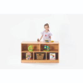 Zona Children's 5 Compartment Beechwood Storage Unit