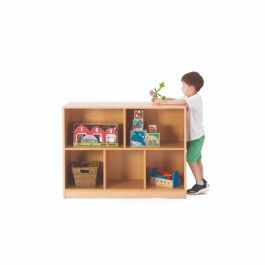 Zona Children's 5 Compartment Beechwood Storage Unit