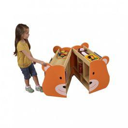 Children's Novelty Book Browser Unit - Bear