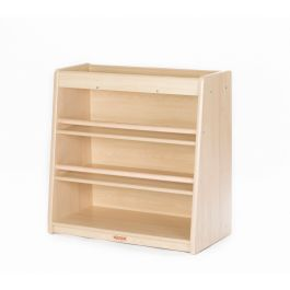 Toddlers Maple 3 Shelf Cabinet