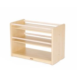 Toddlers Maple 2 Shelf Cabinet
