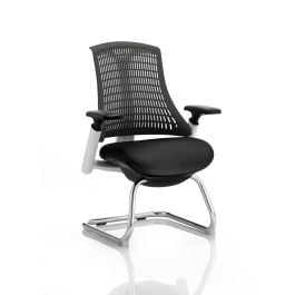 Flex Cantilever Chair with Arms