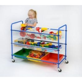 Sand and Water Equipment Trolley