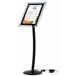 BusyGrip Black Illuminated Poster Stand