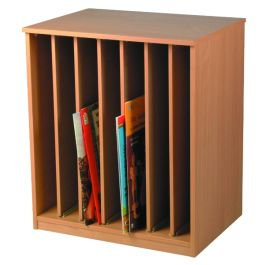 Children's Big Book Vertical Storage Unit