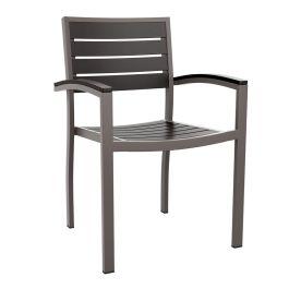 Likewood Aluminium Outdoor Armchair