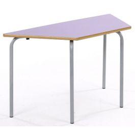Metalliform Nursery Trapezoidal Classroom Table