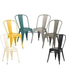 Marcel Metal Bistro Side Chair