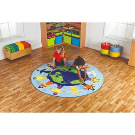 Children of the World Multi-Cultural Classroom Rug