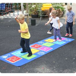 Hopscotch Outdoor Children's Play Mat
