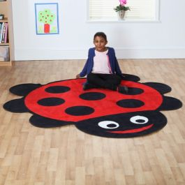 Back to Nature Giant Ladybird Shaped Carpet