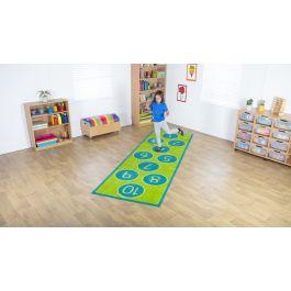 Hopscotch Classroom Carpet