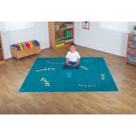 Children's Mindfulness Super Soft Tuf-Pile Carpet