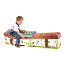 Mini Beast Children's 4 Seater Soft Bench