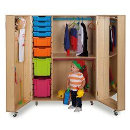 Bubblegum Dressing Up Storage Cupboard