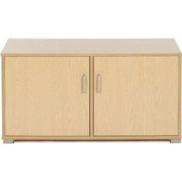 Bubblegum Low Level 3 Bay Classroom Cupboards