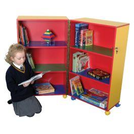 Children's Mobile Fold Away Bookcase