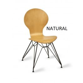 ILLE Contemporary Wooden Cafe Side Chair