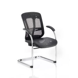 Mirage Mesh Cantilever Chair