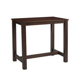 Mist Wooden Tall Bar Table - Rectangular