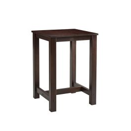 Mist Wooden Tall Bar Table - Square 750mm
