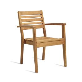 More All Wood Outdoor Armchair