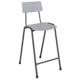 Remploy MX Classic School Lab Stool with Backrest