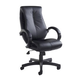 Nantes High Back Faux Leather Managers Chair
