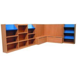 Nexus Library Bookcase Combination - Set 4