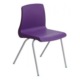 Metalliform NP Classroom Chair with Seat Pad