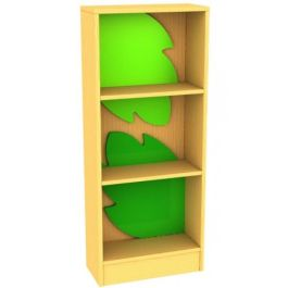 Frog Bookcase with Feature Panels Leafs