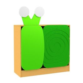 Children's Novelty Bookcase Snail with Doors