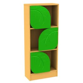 Children's Novelty Bookcase Snail with Leaf Doors