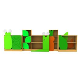School Library Bookcases Complete Slug and Snail Set