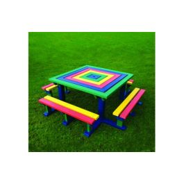 Junior Octobrunch Recycled Plastic Picnic Bench