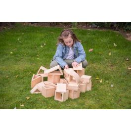 Outdoor Natural Hollow Toy Building Blocks