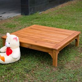 Low Wooden Play Table - Outdoor or Indoor