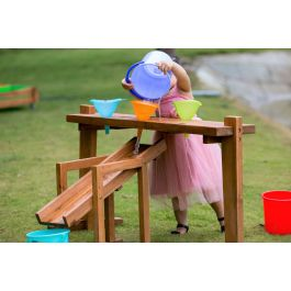 Outdoor Rack for Funnels and Slide