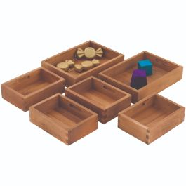 Outdoor Wooden Sorting Boxes - Set of 6