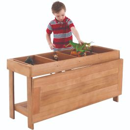 Outdoor Wooden Sorting Table and Lid