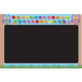 Alphabet Owl Playground Chalkboard