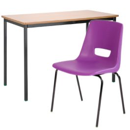 Classroom Tables & Chairs - BULK BUY 15 TABLES and 30 CHAIRS