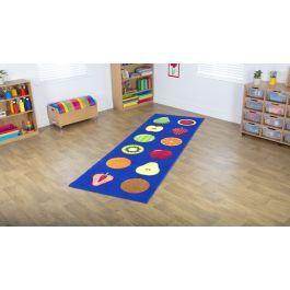 Fruit Runner Classroom Placement Carpet