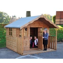 Children's Wooden Play Cottage
